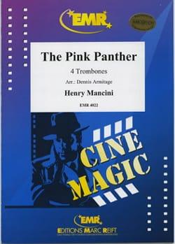 The Pink Panther - Quatuor de trombones - MANCINI - laflutedepan.com