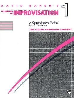 David Baker - Técnicas de improvisación 1 - Partition - di-arezzo.es