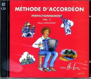 Manu Maugain - CD - Volume 2 Accordion Method - Partition - di-arezzo.com