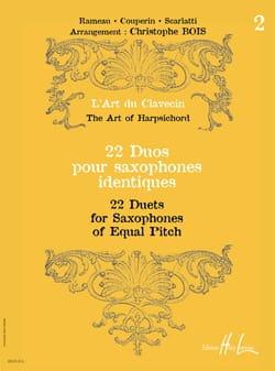 22 Duos Pour Saxophones Identiques Volume 2 - laflutedepan.com