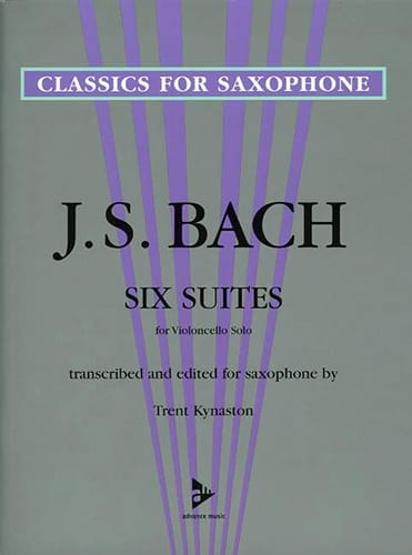 BACH - 6 Suites for Violoncello Solo - Partition - di-arezzo.com