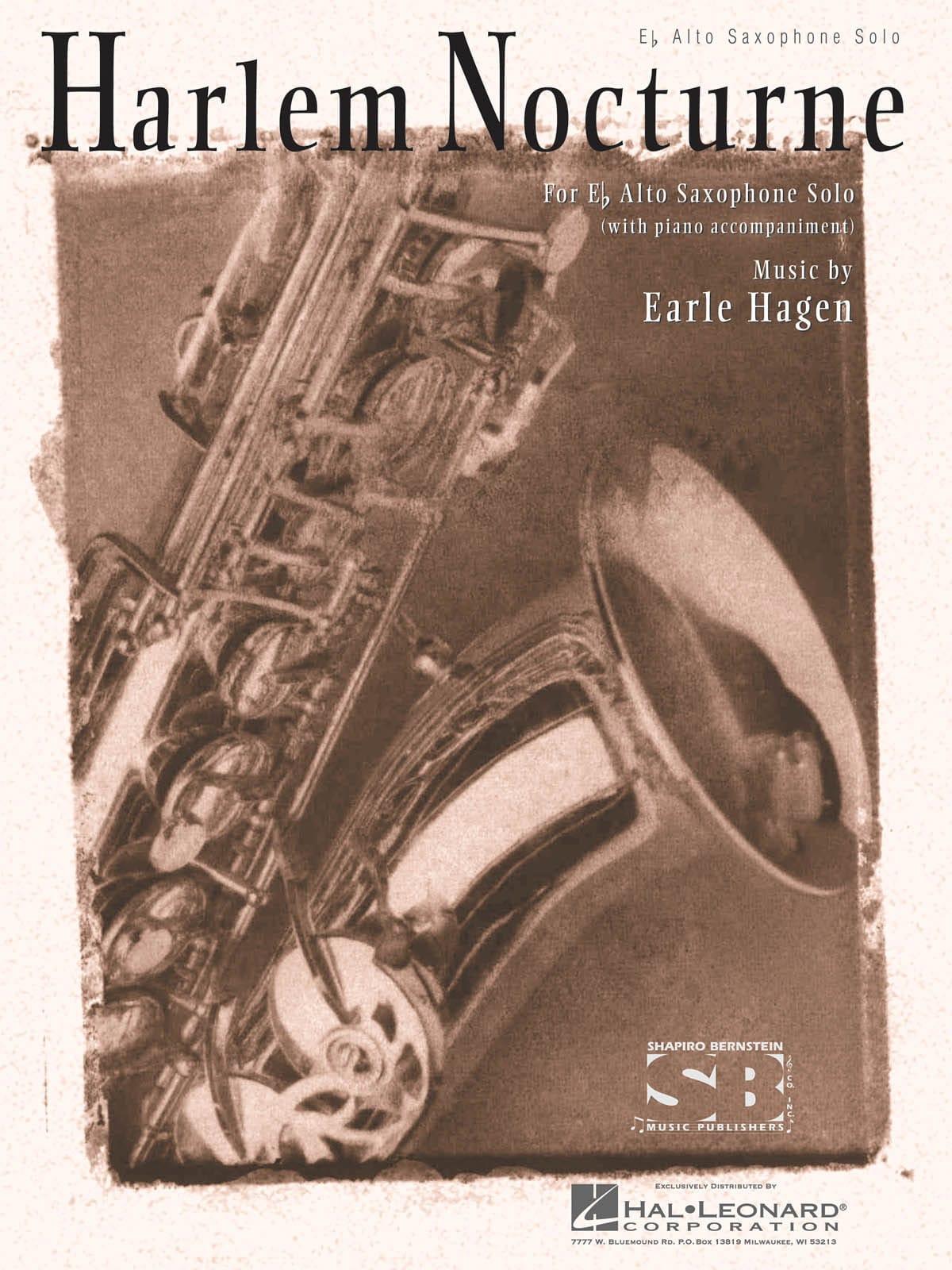 Harlem Nocture - Earle Hagen - Partition - laflutedepan.com