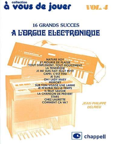 A Vous de Jouer A L'orgue Eléctronique Volume 4 - laflutedepan.com
