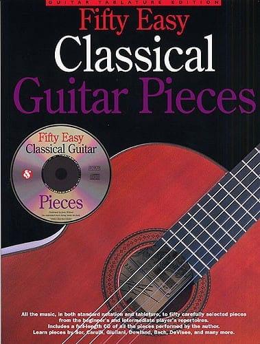 Fifty Easy Classical Guitar Pieces - Partition - laflutedepan.com