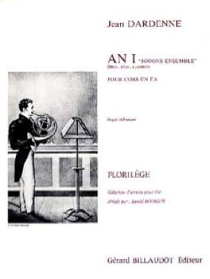 An I Jouons Ensemble - Jean Dardenne - Partition - laflutedepan.com