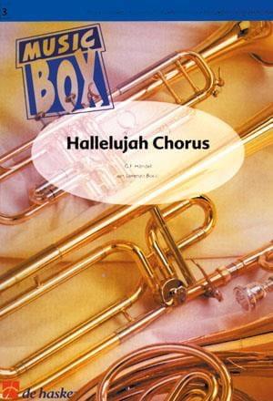 Hallelujah chorus - music box - HAENDEL - Partition - laflutedepan.com