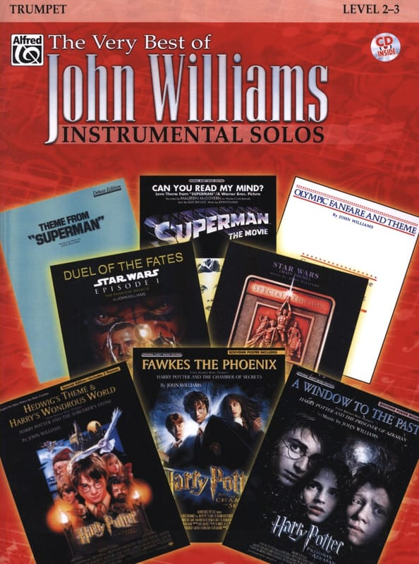 John Williams - The very best of John Williams - Instrumental solos - Partition - di-arezzo.com
