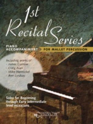 1st recital series Mallet - Partition - Piano - laflutedepan.com
