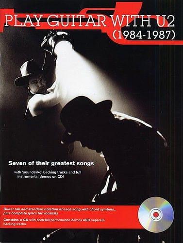U2 - Play Guitar With U2 1984-1987 - Partition - di-arezzo.co.uk