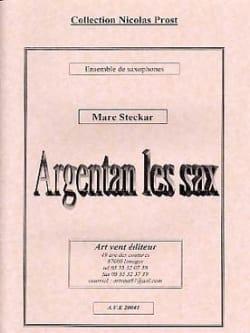 Argentan les Sax - Marc Steckar - Partition - laflutedepan.com