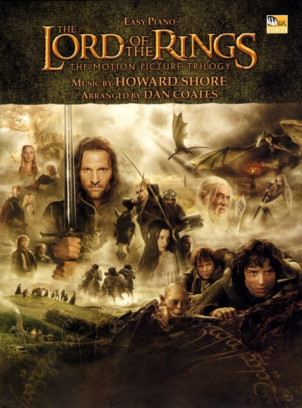 Howard Shore - The Lord of the Rings - Easy Piano - Partition - di-arezzo.co.uk