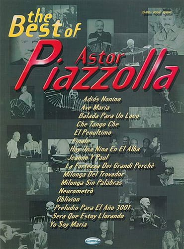 Astor Piazzolla - The best of Astor Piazzolla - Partition - di-arezzo.co.uk