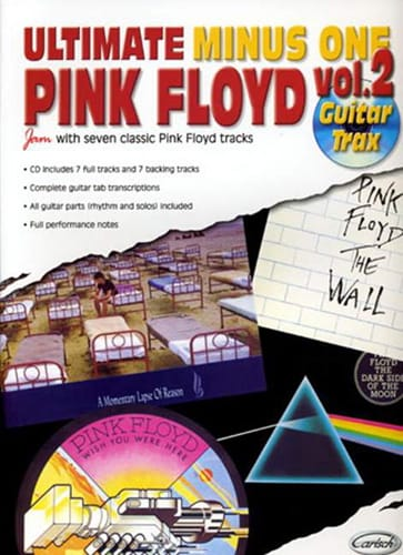 Pink Floyd - Ultimate Minus One - Guitar Trax Volumen 2 - Partition - di-arezzo.es