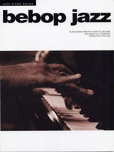 - Jazz Piano Solos - Bebop Jazz - Partition - di-arezzo.co.uk