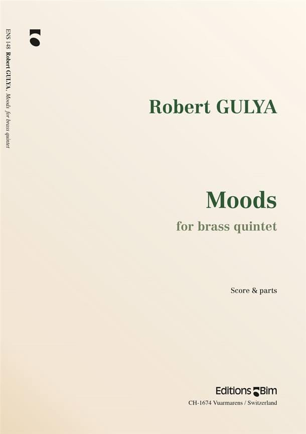 Moods - Robert Gulya - Partition - laflutedepan.com