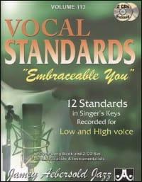 Volume 113 - Vocal Standards Embraceable You - Ballads For All Singers - laflutedepan.com