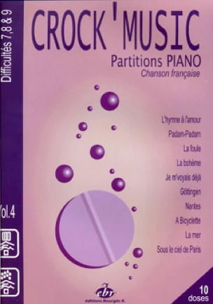 Crock' music volume 4 - Partition - laflutedepan.com