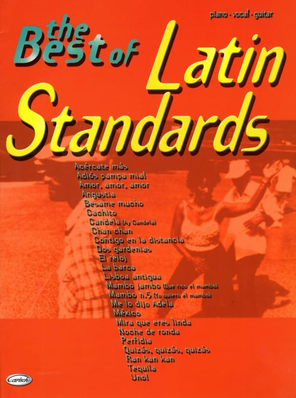 - The Best Of Latin Standards - Partition - di-arezzo.co.uk