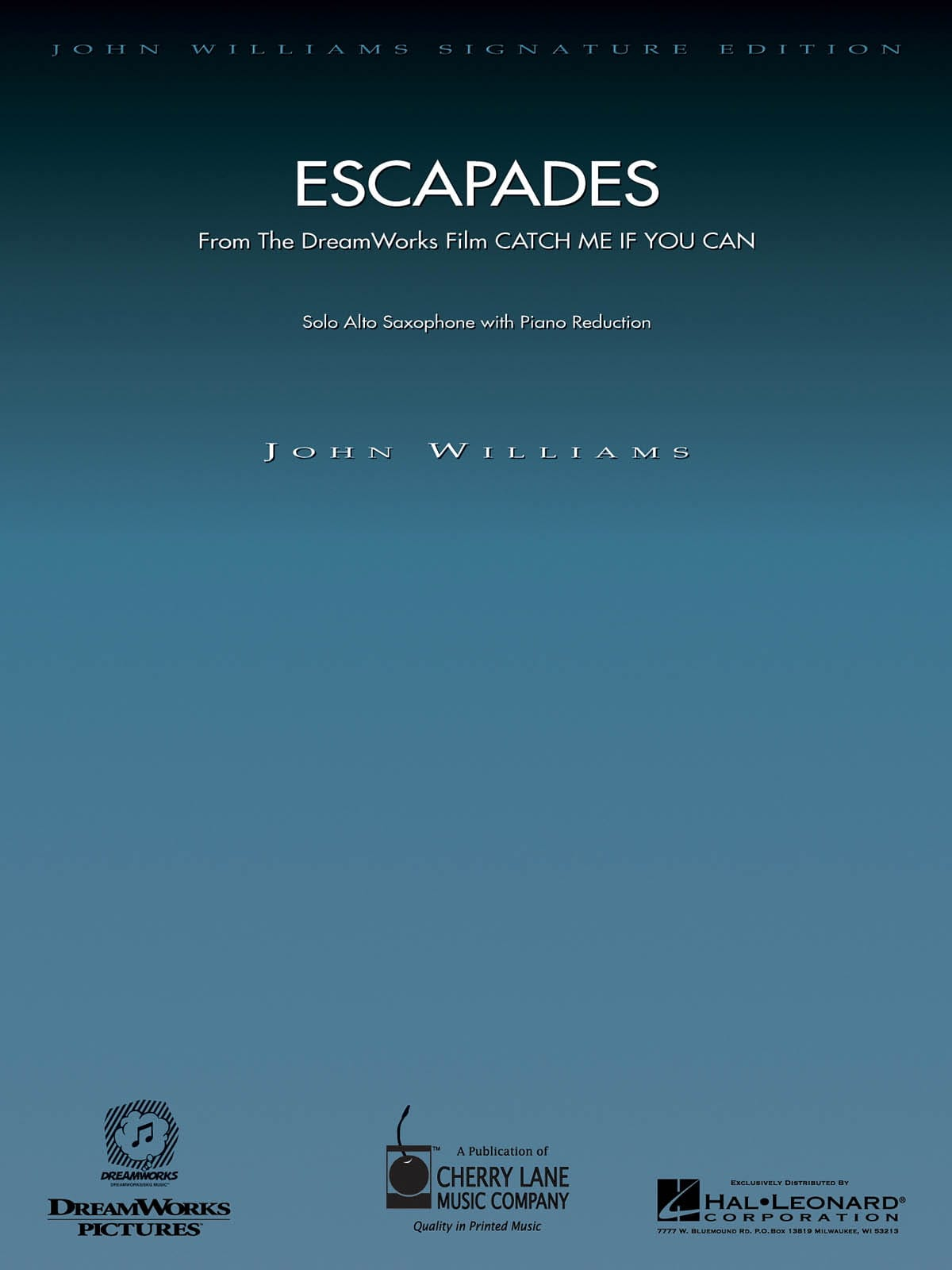John Williams - Escapades - From The Film Catch Me If You Can - Partition - di-arezzo.ch