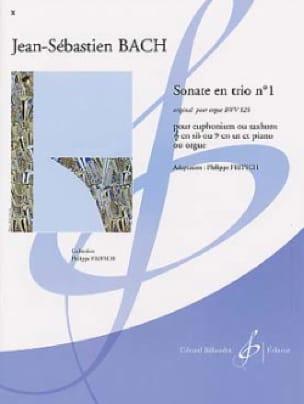 Sonate En Trio N° 1 BWV 525 - BACH - Partition - laflutedepan.com