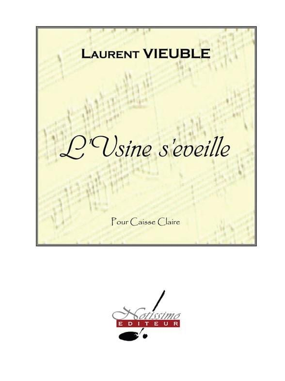 L' Usine S' Eveille - Laurent Vieuble - Partition - laflutedepan.com