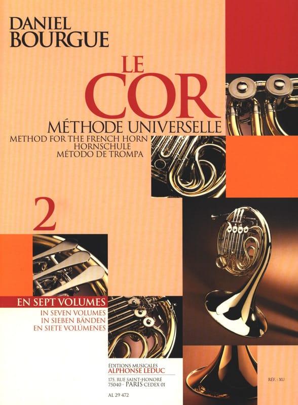 Daniel Bourgue - The Cor Universal Method Volume 2 - Partition - di-arezzo.com