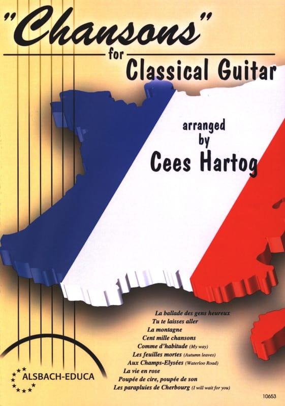 Chansons For Classical Guitar - Partition - laflutedepan.com