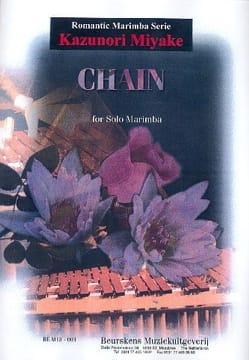 Chain - Kazuroni Miyake - Partition - Marimba - laflutedepan.com