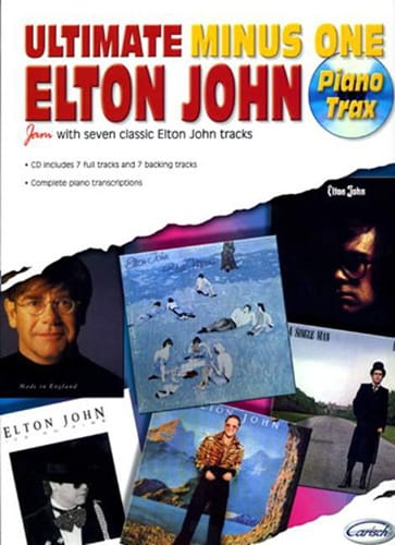 Elton John - Ultimate Minus One - Piano Trax - Partition - di-arezzo.co.uk