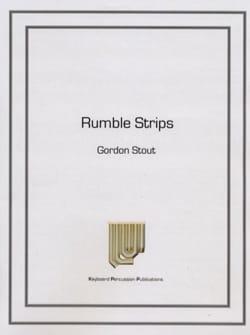 Gordon Stout - Rumble Strips - Partition - di-arezzo.co.uk