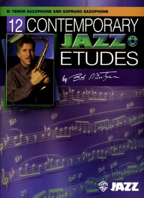 Bob Mintzer - 12 Contemporary Jazz Etudes - Partition - di-arezzo.co.uk