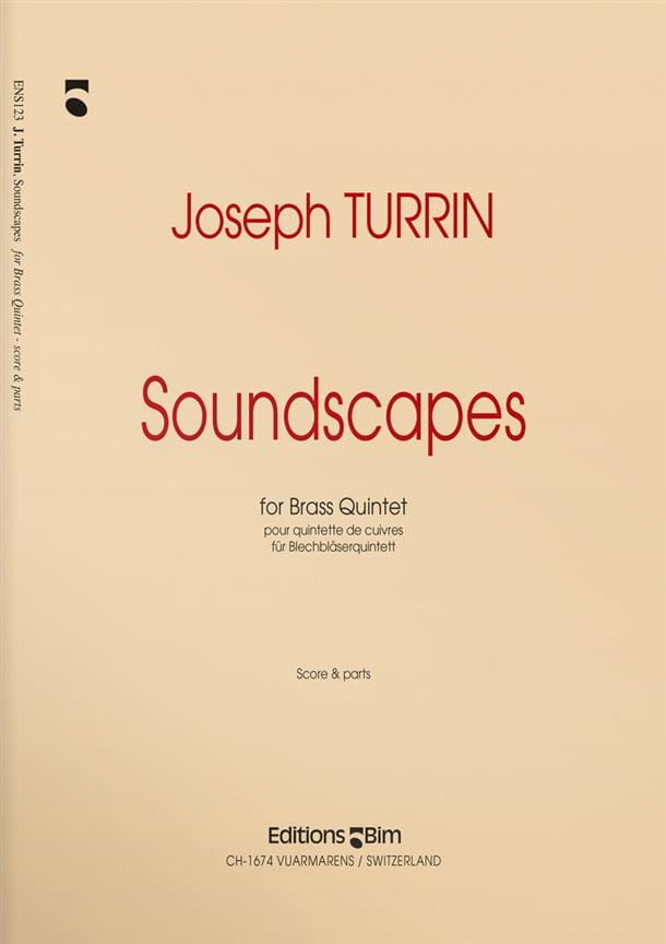 Soundscapes - Joseph Turrin - Partition - laflutedepan.com