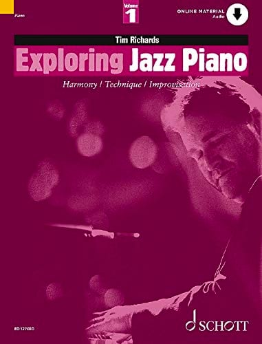 Tim Richards - Exploring Jazz Piano Volume 1 - Partition - di-arezzo.co.uk