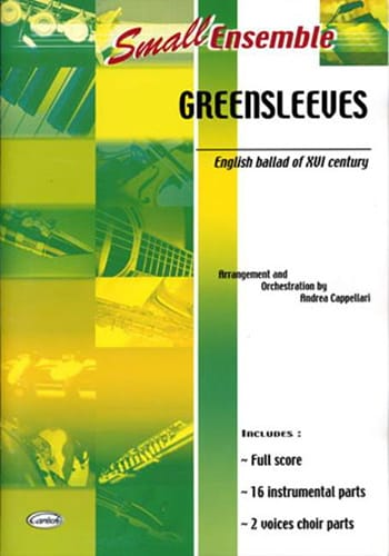 Greensleeves - Small Ensemble - Partition - laflutedepan.com