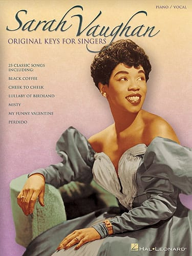Original Keys For Singers - Sarah Vaughan - laflutedepan.com