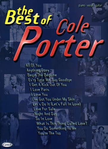 Cole Porter - The Best Of Cole Porter - Partition - di-arezzo.co.uk