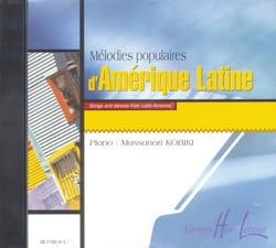 CD En Option Des Mélodies Populaires D' Amérique Latine - laflutedepan.com