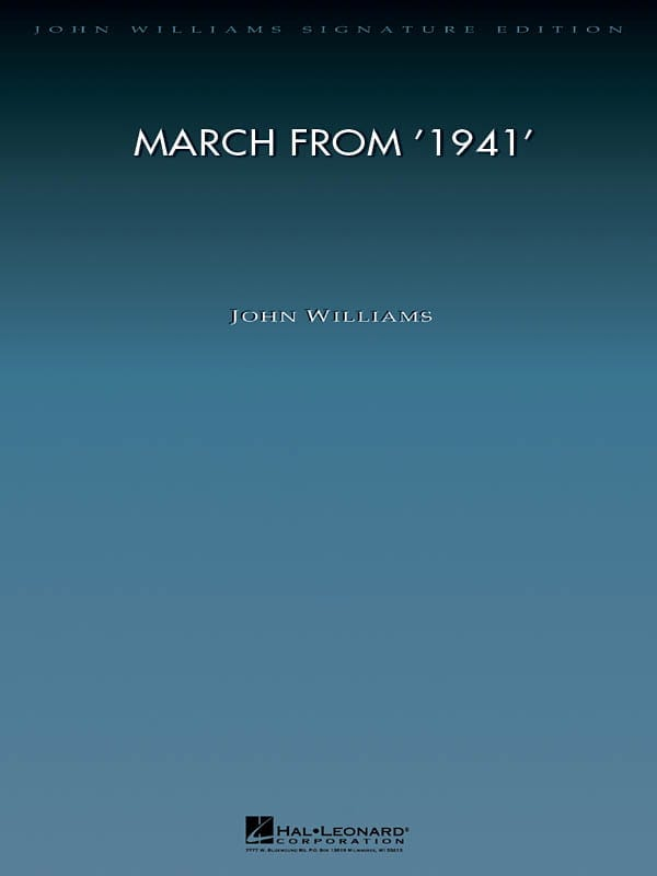 The March From 1941 - John Williams - Partition - laflutedepan.com
