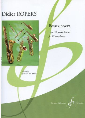 Bossax Novax - Didier Ropers - Partition - laflutedepan.com