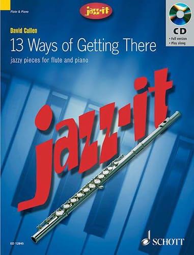 Jazz-It - David Cullen - Partition - laflutedepan.com