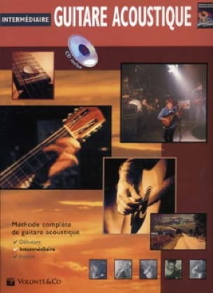 Greg Horne - Acoustic Guitar - Intermediate French Edition - Partition - di-arezzo.co.uk