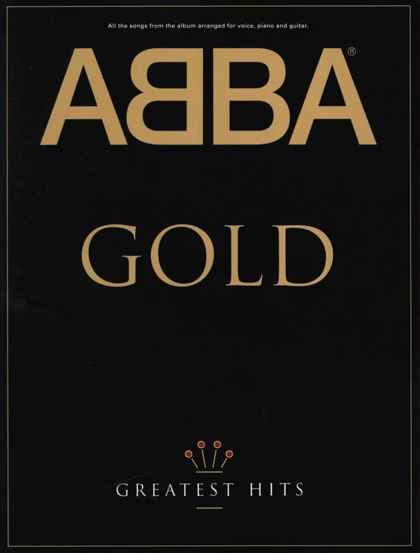 ABBA - Gold Greatest Hits - Partition - di-arezzo.co.uk