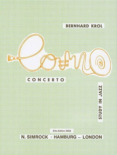 Bernhard Krol - Concerto Study In Jazz. Horn - Partition - di-arezzo.co.uk