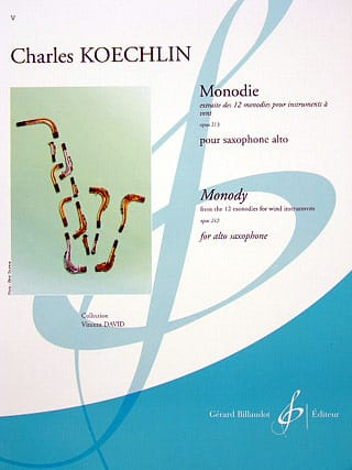 Charles Koechlin - Monody - Partition - di-arezzo.co.uk