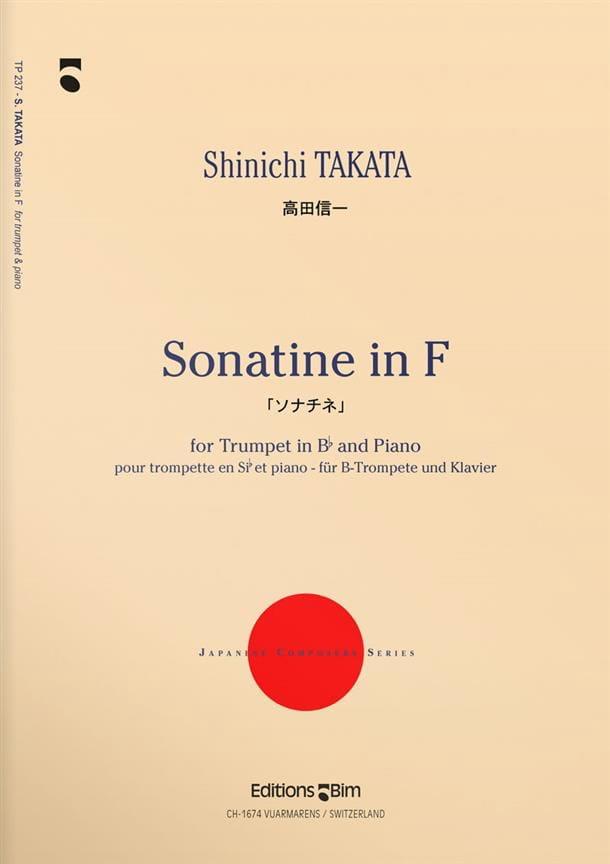 Sonatine In F - Shinichi Takata - Partition - laflutedepan.com