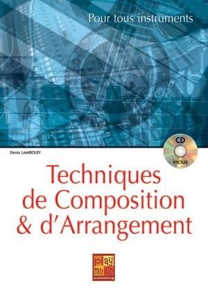 Denis Lamboley - Technique of composition and arrangement - Partition - di-arezzo.co.uk