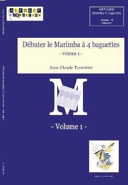 Débuter le Marimba A 4 Baguettes Volume 1 - laflutedepan.com