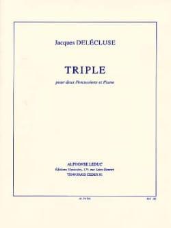 Triple - Jacques Delécluse - Partition - laflutedepan.com