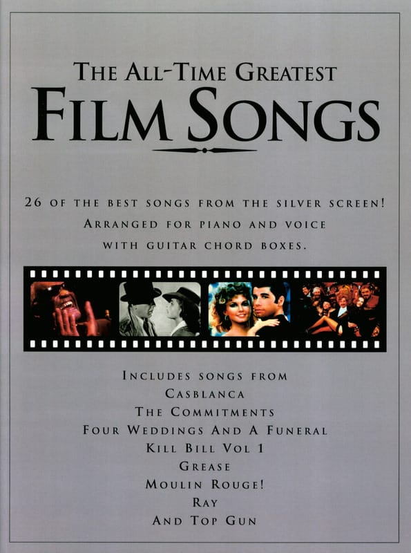 The All-Time Greatest Film Songs - Partition - laflutedepan.com