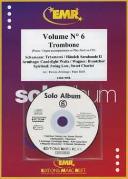 Solo album N° 6 - Partition - Trombone - laflutedepan.com